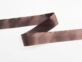 Great value 36mm Single Fold Satin Bias- Chocolate Sauce #697 available to order online New Zealand