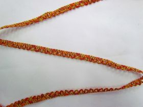 Great value Baby Ripple Scallop Trim- Yellow/Orange available to order online New Zealand