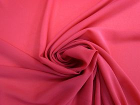 Great value Crepe Georgette- Pink Punch #4463 available to order online New Zealand