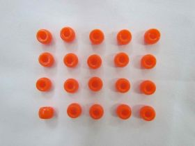 Great value Orange Beads- 20 for $1.50- RW136 available to order online New Zealand