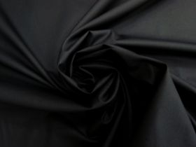 Great value Smooth Cotton Poplin- Black #4479 available to order online New Zealand