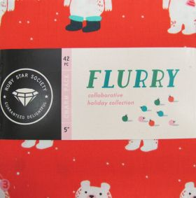 Great value Ruby Star Society- Flurry Charm Pack available to order online New Zealand