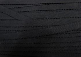 Great value 16mm Lingerie Elastic- Black #453 available to order online New Zealand