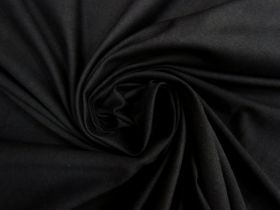 Great value Cotton Spandex- Matte Black #4490 available to order online New Zealand
