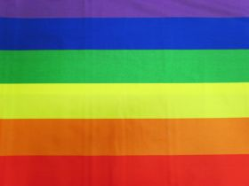 Great value Rainbow Stripe Cotton #4509 available to order online New Zealand