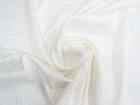 Great value Crinkle Stripe Satin Viscose- Pearl Cream #4510 available to order online New Zealand