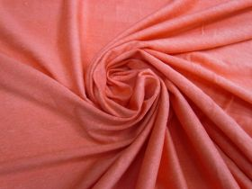 Great value Linen Jersey- Bright Coral #4527 available to order online New Zealand