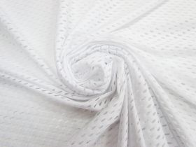 Great value Large Eyelet Knit- White #4529 available to order online New Zealand