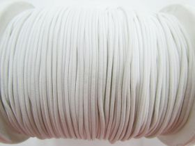 Great value 2mm Round Elastic- Cream White #471 available to order online New Zealand