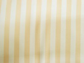 Great value Staple Stripe Cotton- Banana Cream #DV303 available to order online New Zealand