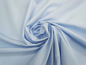 Great value Smooth Cotton Blend Shirting- Airy Blue #4563 available to order online New Zealand