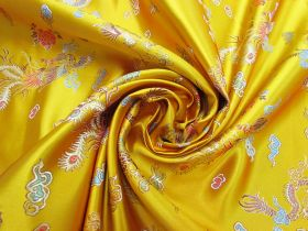 Great value Golden Dragon Satin Brocade #4587 available to order online New Zealand