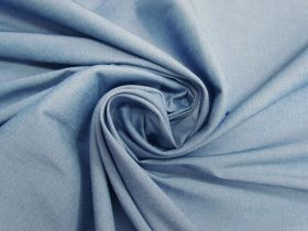 Great value Cotton Blend Bengaline- Rainy Blue #4610 available to order online New Zealand