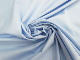 Great value Cotton Blend Ottoman Shirting- Light Blue #4612 available to order online New Zealand