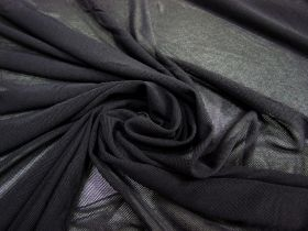 Great value Soft Stretch Mesh- Dark Charcoal #2663 available to order online New Zealand