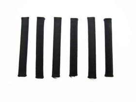 Great value Covered Plastic Boning Pieces- 8cm Black RW226-  6 for $4 available to order online New Zealand