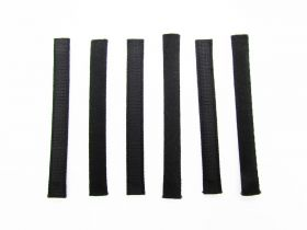 Great value Covered Plastic Boning Pieces- 9cm Black RW230-  6 for $4 available to order online New Zealand