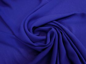 Great value Viscose Georgette- Sapphire Blue #4660 available to order online New Zealand