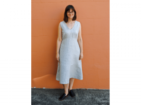 Great value Ladies Lunch Dress Downloadable Pattern- Sizes 6-20 available to order online New Zealand