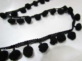 Great value Pom Poms- Black available to order online New Zealand