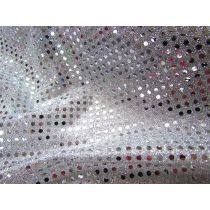 3mm American Sequins- Silver/White