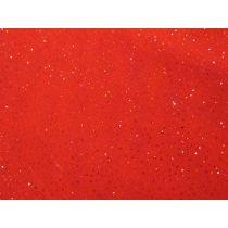 Glitter Chiffon- Red