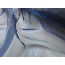 Glass Organza- Navy
