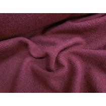 Boiled Wool- Cranberry
