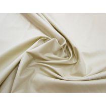 Designer Stretch Cotton Poplin- Light Ecru