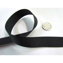 Roll of Grosgrain Ribbon 22mm- Black