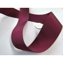 Grosgrain Ribbon 38mm- Burgundy
