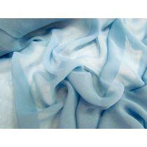 Georgette- Frozen Blue