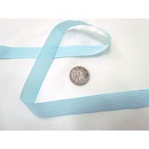 Candy 15mm- Light Blue / White