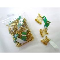 45g Bag of Gilt Midget Safety Pins