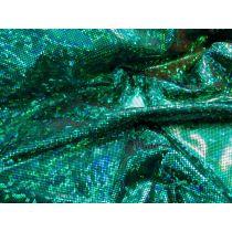 Dark Shattered Glass- Green on Black