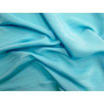 Peachskin Satin Chiffon- Blue Atol