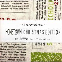 Moda Hometown Christmas Edition Promo Pack