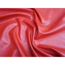 Soft Feel Leather Look Brushed Vinyl- Harley Red