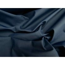 Water Resistant Microcheck Microfibre- Navy