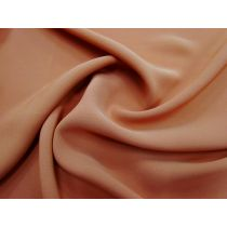 Satin Back Crepe- Deep Amber