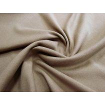 Soft Backed Cotton Blend Double Knit- Nutmeg
