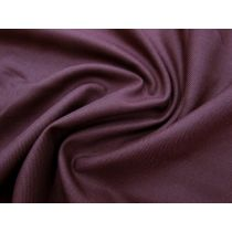 Australian Made Wool Suiting- Mulberry Maroon