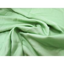 Stretch Viscose Satin Chiffon- Pistachio