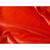 2way Stretch Velvet- Red