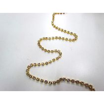 Gold Rhinestone Chain