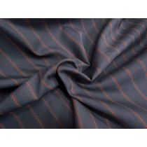 Studious Stripe Twill Suiting