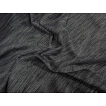 Soft Active Marle Jersey- Charcoal