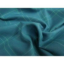 Australian Made Wool Blend Suiting- Ellen Check