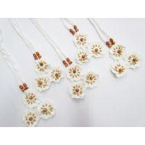Crochet Floral- Halter Tie Neckline Bundle- 5 for $5