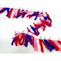 Mariachi Tassel Fringe- White
